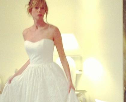 Alessia Marcuzzi abito sposa Giada Curti
