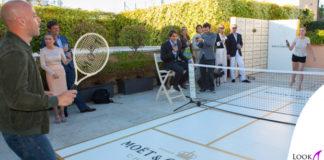 Claudia Gerini Filippo Nigro Roger Federer Moet&Chandon