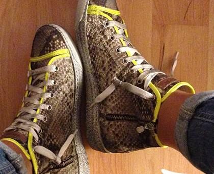 Costanza Caracciolo scarpe Skoton