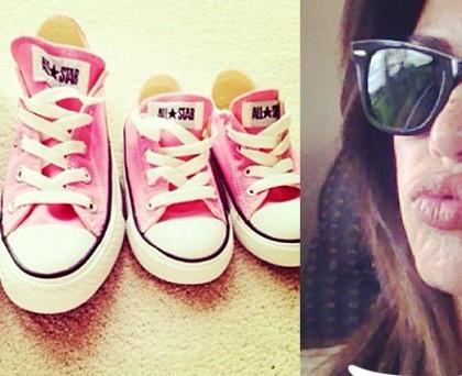 Laura Torrisi Martina ConverseAllStar rosa