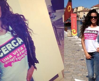 Raffaella Fico tshirt Prophetic