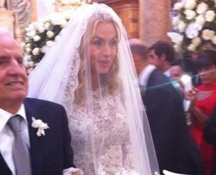 Valeria Marini nozze
