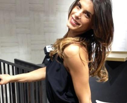 Elisabetta Canalis abito Pinko