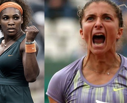 Sara Errani Serena Williams Nike