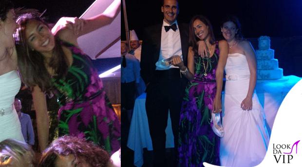 Caterina Balivo abito MichaelKors 3