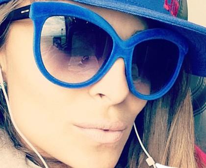 Cristina Chiabotto occhiali ItaliaIndependent