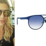 Emma Marrone occhiali ItaliaIndipendent I-AceMetal 3