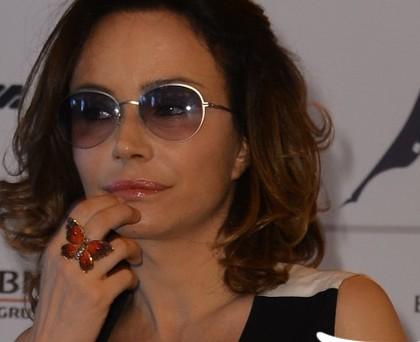 Francesca Neri occhiali Persol