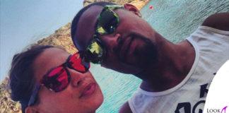 Melissa Satta Kevin Prince Boatengo occhiali Oakley Frogskins