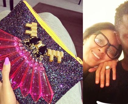 Menaye Donkur borsa Mawi glitter