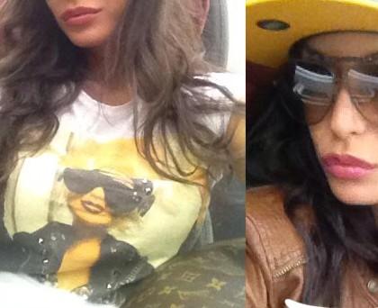 Raffella Fico tshirt Prophetic cappellino NY