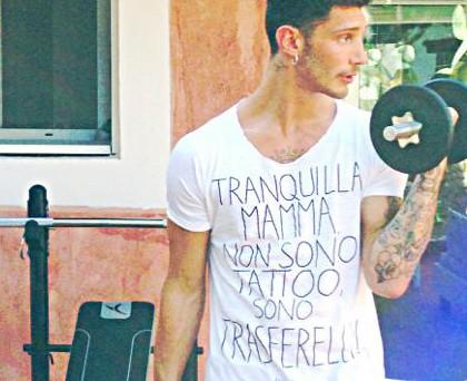 Stefano De Martino tshirt Happiness