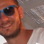 Alessandro Cattelan occhiali RayBan