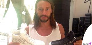 Bob Sinclair scarpe GiuseppeZanotti