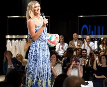 Francesca Piccinini abito LiuJo