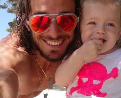 Federico Julia Balzaretti tshirt Happiness
