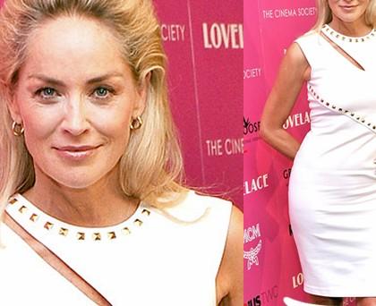 Sharon Stone abito Blumarine