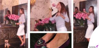 Claudia Galanti scarpe Charlotte Olympia