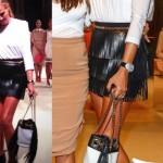 Federica Panicucci gonna scarpe ElisabettaFranchi borsa ForPrincessOnly 2