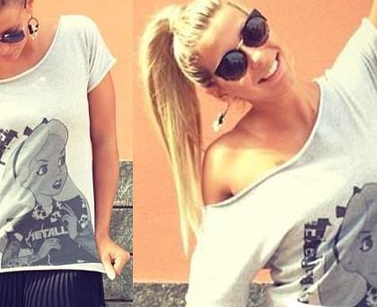 Giulia Calcaterra tshirt MaisonG Alice