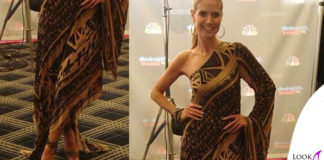 Heidi Klum abito DKNY