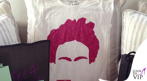Laura Torrisi tshirt Tee4Two Frida 2