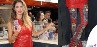 Melissa Satta total Cavalli