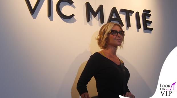 Paola Barale occhiali MiuMiu