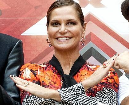 Simona Ventura total Cavalli 4