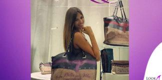 Cristina Chiabotto borsa LePandorine