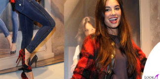 Francesca Chillemi jeggings Freddy giubbotto FaustoPuglisi