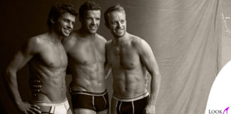 Matteo Marsaglia Christof Innerhofer Manfred Moelgg intimo Intimissimi