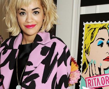 Rita Ora total Moschino 2