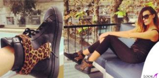 Alessia Fabiani scarpe DSide