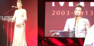 Barbara Berlusconi abito Cavalli