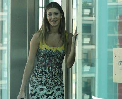 Belen Rodriguez abito FrankieMorello