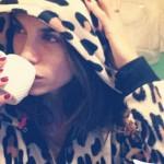 Elisabetta Canalis pigiama Topshop