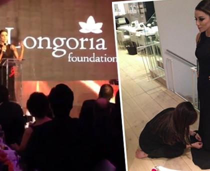 Eva Longoria abito Victoria Beckham