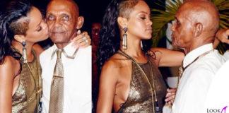 Rihanna abito RiverIsland gioielli Lanvin