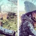 Alessia Fabiani felpa Happiness