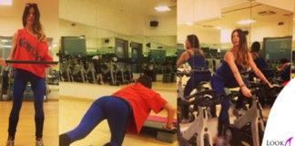 Alessia Fabiani maglia top leggings Dimensione Danza