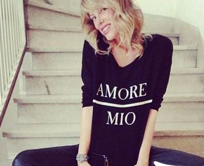 Alessia Marcuzzi felpa AniyeBy AmoreMio