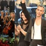 Asaf Avidan concerto di Natale Total Dondup