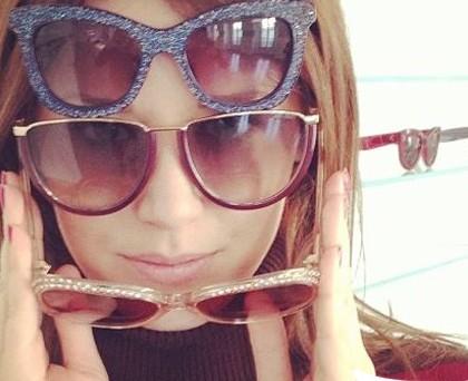 Elena Barolo occhiali Jimmy Choo