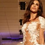 Elisabetta Canalis abito sposa Alessandro Couture
