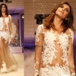 Elisabetta Canalis abito sposa Alessandro Couture 4