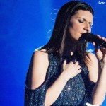 Laura Pausini tour abiti Armani