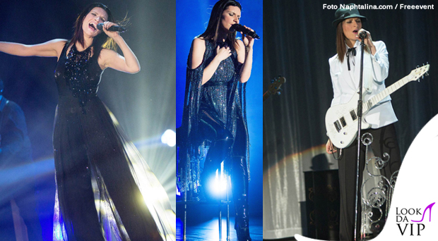 Laura Pausini tour abiti Armani 7