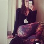 Roberta Giarrusso leggings F..K