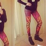 Roberta Giarrusso leggings F..K 2